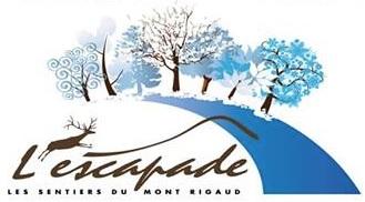 Sentiers de L Escapade du mont Rigaud logo hiver