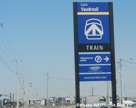 gare Vaudreuil train AMT Photo INFOSuroit_com