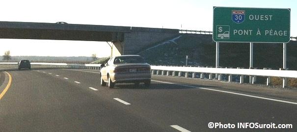 peage autoroute 30 enseigne Photo INFOSuroit_com