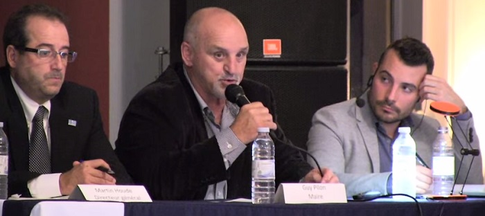 revitalisation boul Harwood presentation Ville Vaudreuil-Dorion avec maire Guy_Pilon
