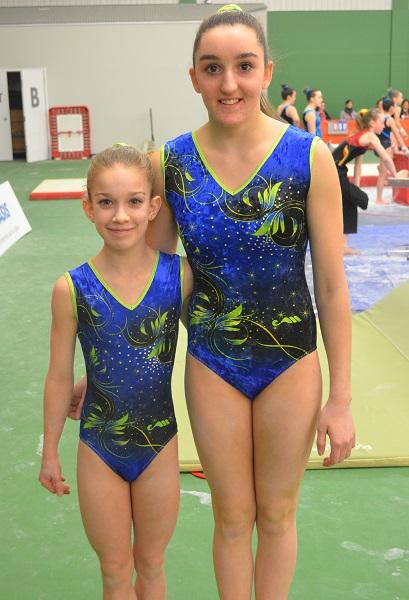 Audrey_Foucault-et-Alexandra_Racine-athletes-gymnastique-Sud_Ouest-Jeux-du-Quebec-2015-photo-courtoisie-publiee-par-INFOSuroit_com