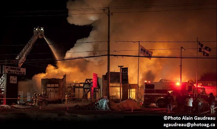 Incendie Plomberie Valleyfield 2mars2015 Photo Alain_Gaudreau