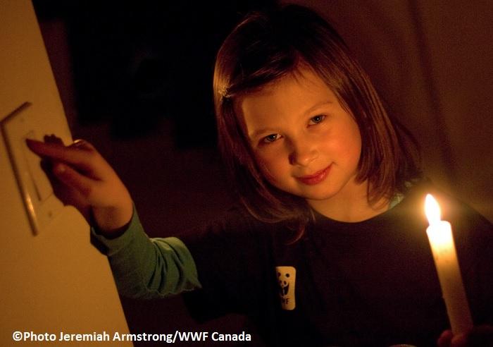 Mouvement Une heure pour la Terre Photo Jeremiah_Armstrong WWF-Canada