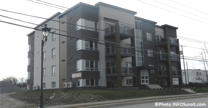 construction immobilier multi logements a Chateauguay Photo INFOSuroit_com