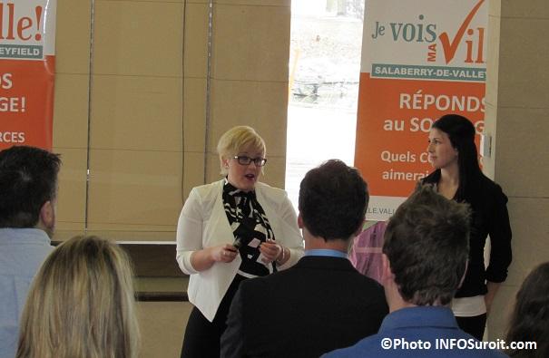 les etudiantes Virginie_Gauthier et Jessica_Lacombe Photo INFOSuroit