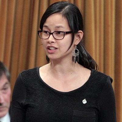 Anne_Minh-Thu_Quach deputee NPD Beauharnois-Salaberry a la Chambre des communes Photo courtoisie