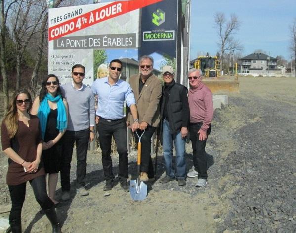 Beauharnois projet immobilier domaine Pointe des Erables Photo courtoisie Beauharnois