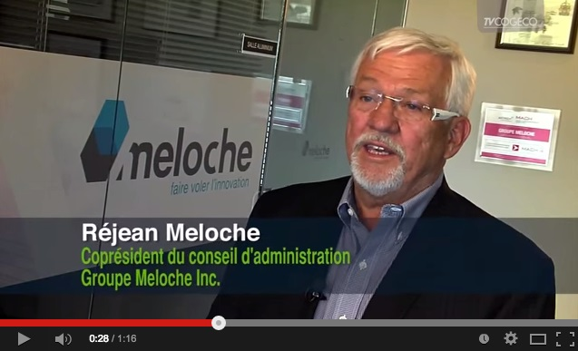 Congres entrepreneurial 2015 Rejean_Meloche extrait video TVCogeco Valleyfield