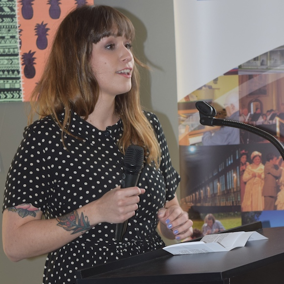 Sabrina_Tardif expose galerie d art de la MRC Photo courtoisie