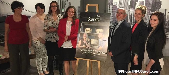 Tourisme Suroit lancement 2015 equipe et president Photo INFOSuroit_com