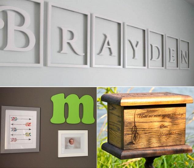 Atelier-de-la-Vallee lettres Brayden lettre chambre enfant et urne Photos courtoisie Jesse_Roskies