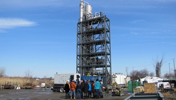 CO2_Solutions unite de demonstration pour capture de carbone Photo CO2