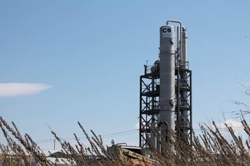 CO2_Solutions unite demonstration de capture de carbone Photo courtoisie