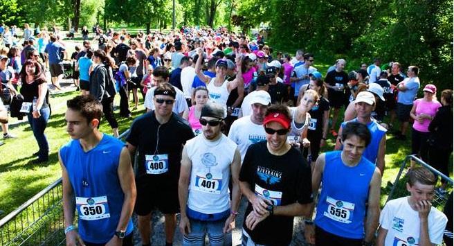 Defi Fras 2014 Coureurs du 5 km Photo courtoisie FRAS pour INFOSuroit