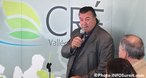 Dejeuner du president de la CRE VHSL Yves_Daoust Photo INFOSuroit_com