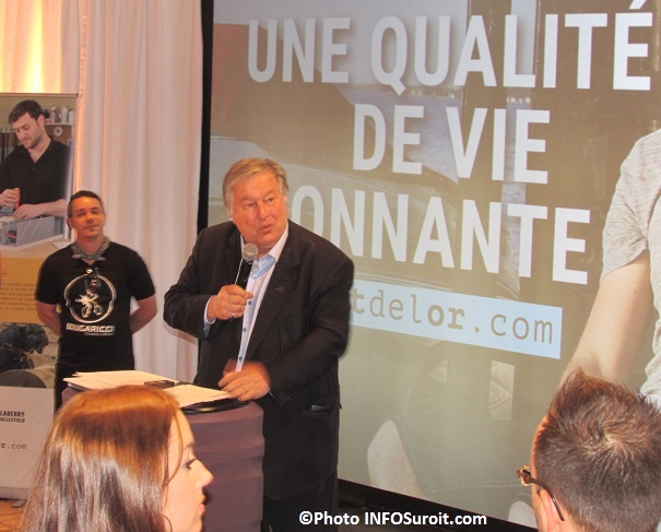 Denis_Lapointe lancement campagne promotion Beauharnois-Salaberry Photo INFOSuroit_com