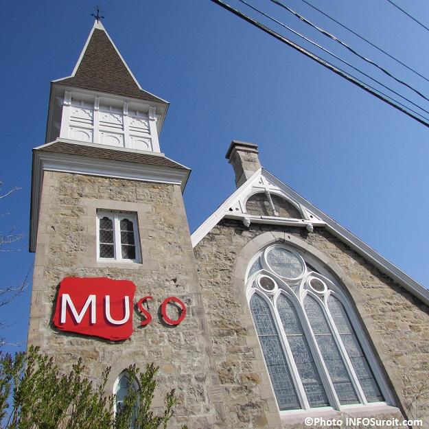 MUSO enseigne sur facade 6 mai 2015 Photo INFOSuroit_com