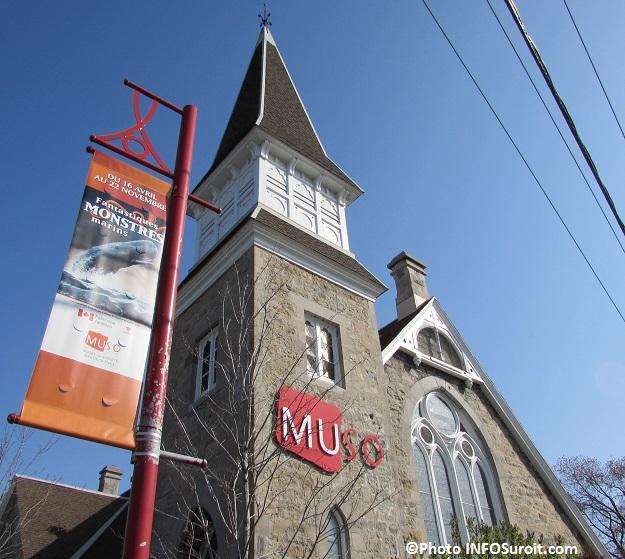 MUSO et banniere exposition Monstres marins mai 2015 Photo INFOSuroit_com