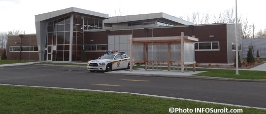 Poste de police SQ MRC de Beauharnois-Salaberry Photo INFOSuroit_com