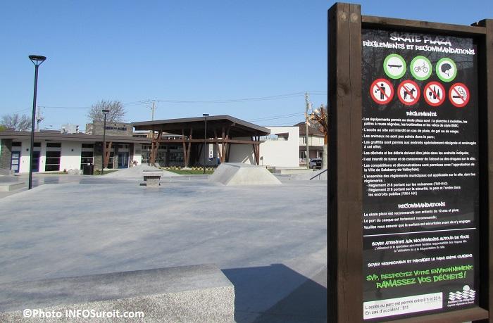 Skate Plaza Valleyfield et Maison des Jeunes Photo INFOSuroit_com