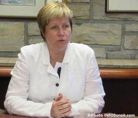 mairesse de la Ville de Chateauguay Nathalie_Simon Photo INFOSuroit_com