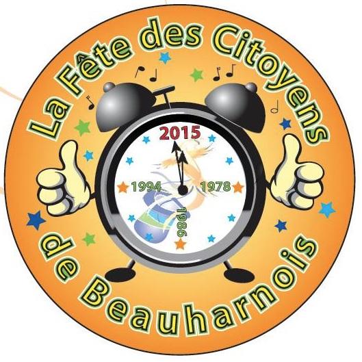 Beauharnois macaron et logo pour Fete des citoyens Image courtoisie publiee par INFOSuroit_com