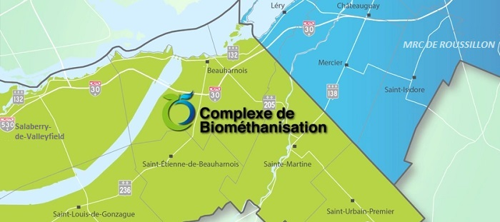 BioM positionnement sur carte du complexe Extrait video YouTube