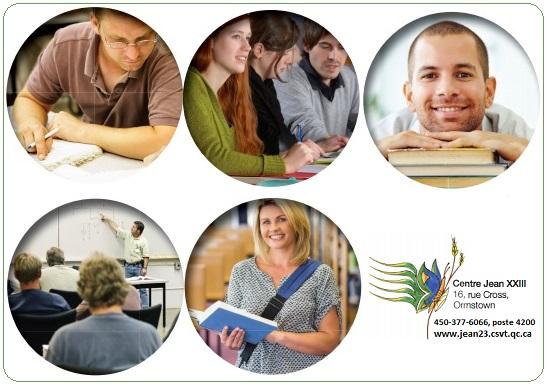 Centre education aux adultes Jean-XXIII a Ormstown Images courtoisie