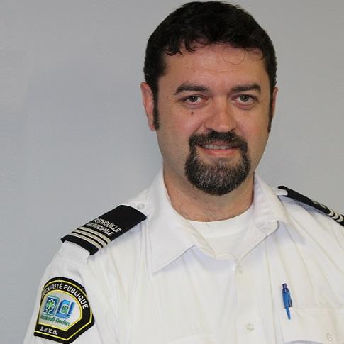 Christophe_Allitt coordonnateur patrouille municipale Vaudreuil-Dorion Photo courtoisie