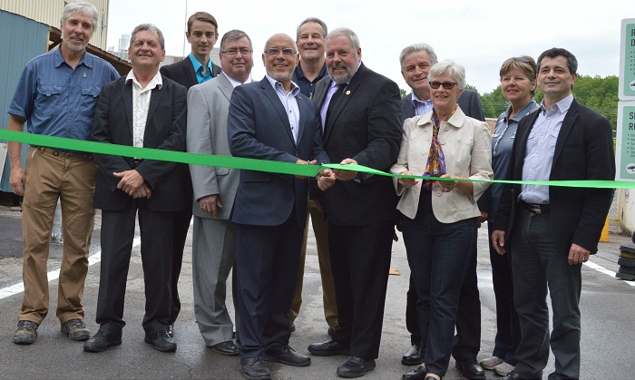 Ecocentre de l_ile inauguration officielle Photo MRC Vaudreuil-Soulanges