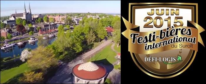 Festi-Bieres_du_Suroit logo et extrait video promotionnelle parc DelphaSauve Images courtoisie