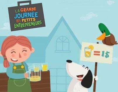 Grande journee des petits entrepreneurs Vente limonade Image courtoisie site Web GJPE