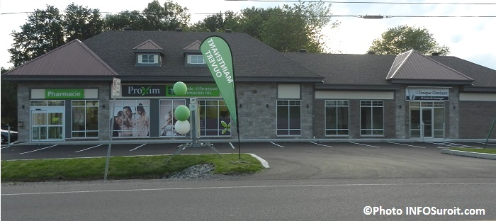 Pharmacie Claude_Villeneuve Proxim a St-Louis-de-Gonzague Photo INFOSuroit_com