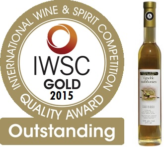 Vignoble_du_Marathonien Gold Outstanding IWSC 2015 Vin Vendange tardive Images courtoisie