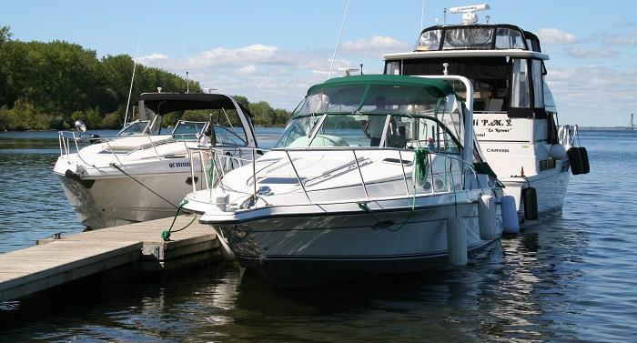 bateaux lieux accostage parc regional beauharnois-Salaberry a St-Louis Photo courtoisie