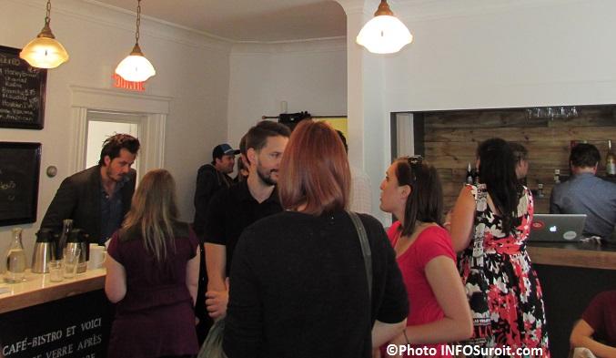 devoilement programmation FestivalArtefact 2015 au Cafe-Bistro LaBibliotheque Photo INFOSuroit_com