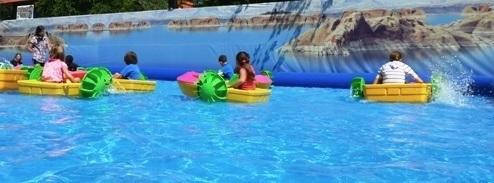 pedalo jeux d eau SherifVille Photo courtoisie via TourismeSuroit