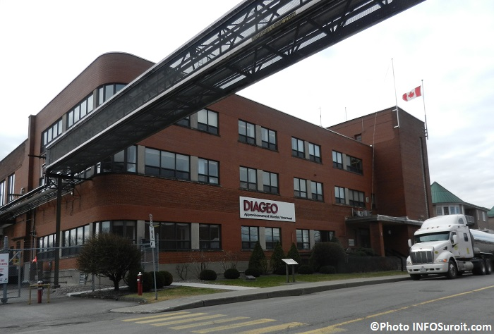 usine Diageo ex-Schenley a Valleyfield Photo INFOSuroit_com