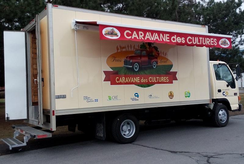 Caravanes_des_cultures camion de livraison Photo courtoisie du CLD Jardins-de-Napierville