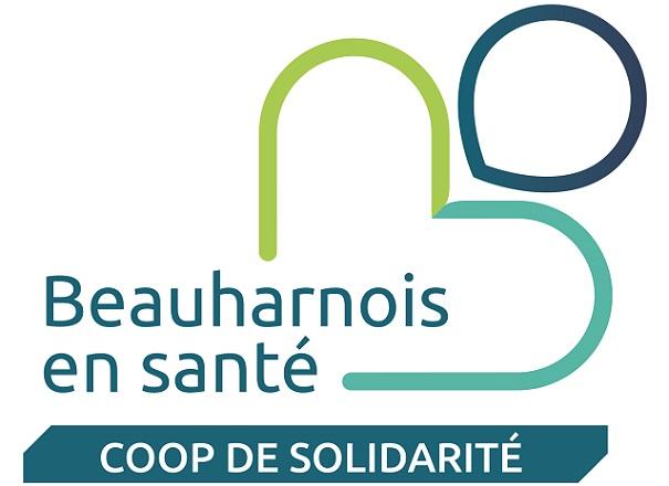 Coop Beauharnois_en_Sante logo officiel publie par INFOSuroit_com