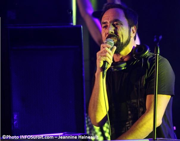 Daniel_Desnoyers DJ D-Noy aux Regates Photo INFOSuroit-Jeannine_Haineault