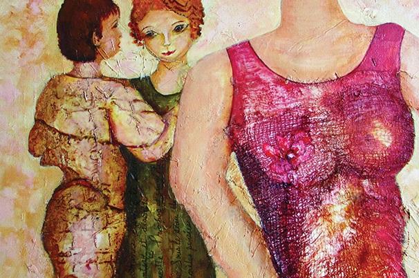 Exposition-Voix-de-femmes-peinture-de-Claudette-Poirier-photo-courtoisie-publiee-par-INFOSuroit_com