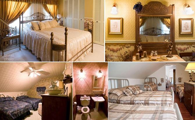Gite Au_petit_ruisseau a Franklin Chambres et dortoir Photos courtoisie site Web aupetitruisseau_com