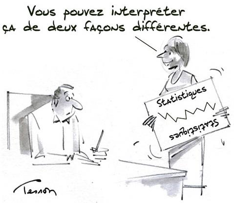 Humour statistiques Caricature courtoisie APTS