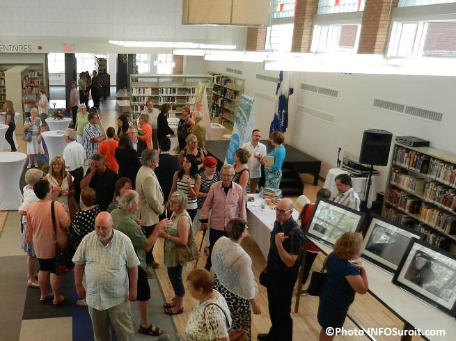 Inauguration de la nouvelle bibliotheque de Beauharnois Photo INFOSuroit_com