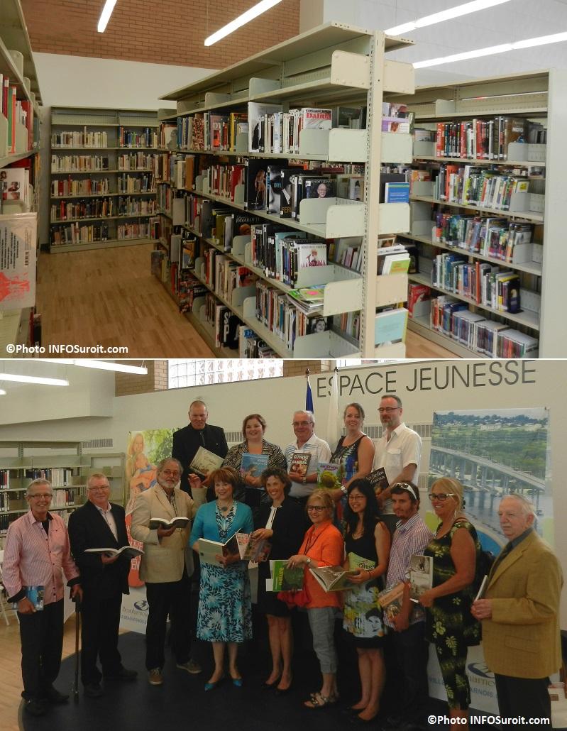 Inauguration de la nouvelle bibliotheque de Beauharnois livres elus ministre deputes architectes entrepreneurs et plus Photos INFOSuroit_com