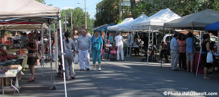 Marche Fermier Huntingdon kiosques producteurs et artisans Photo INFOSuroit_com