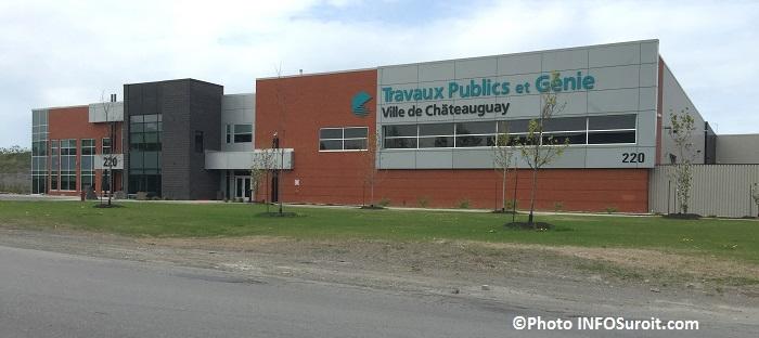 edifice Travaux publics et genie Chateauguay Photo INFOSuroit_com