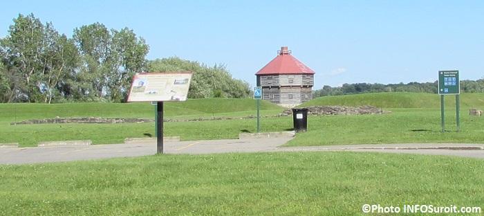 lieu historique national de Coteau-du-Lac fort Photo INFOSuroit_com