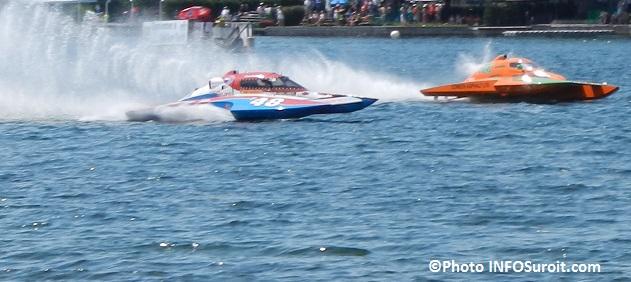 regates course hydroplanes Formule 2500 F48 DLeduc et F242 BKing Photo INFOSuroit_com